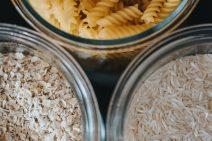 grains rice oats pasta